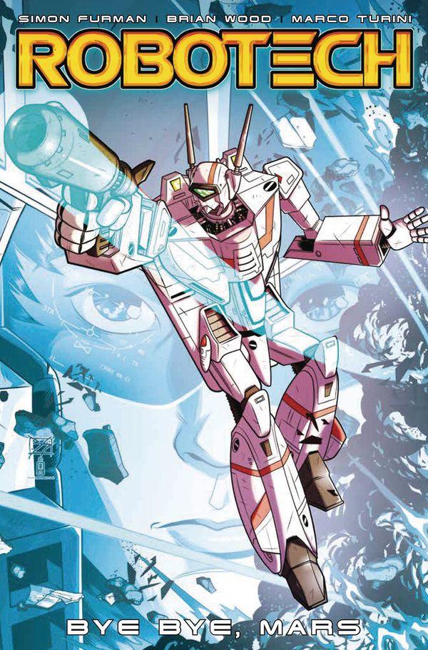 [Cover Art image for Robotech Vol. 2: Bye Bye Mars]
