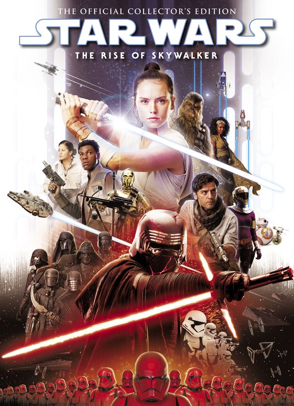 [Cover Art image for Star Wars: The Rise of Skywalker The Official Collector's Edition Book]