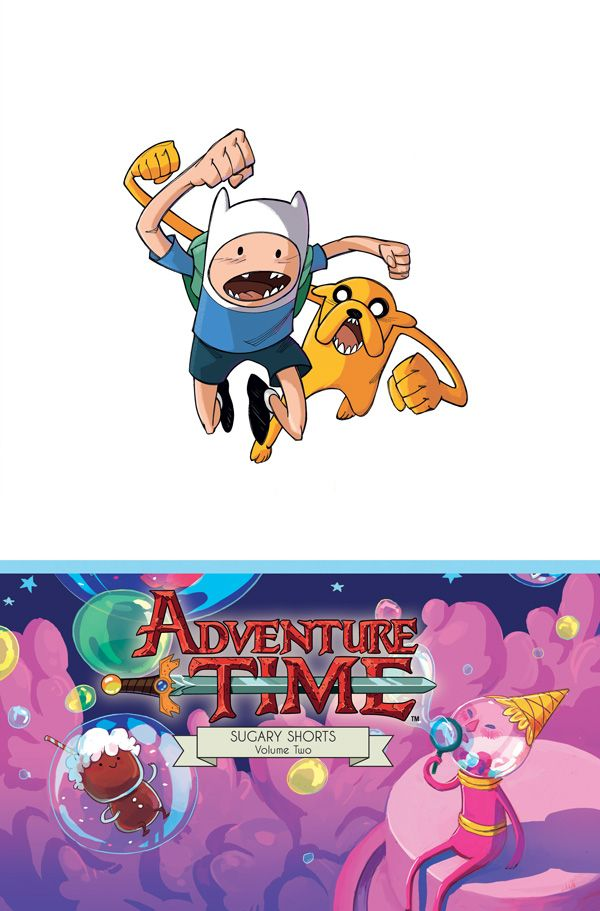 [Cover Art image for Adventure Time Sugary Shorts Vol. 2 Mathematical Edition]