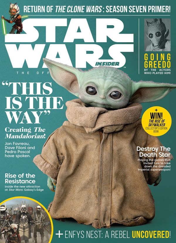 [Cover Art image for Star Wars Insider #195]