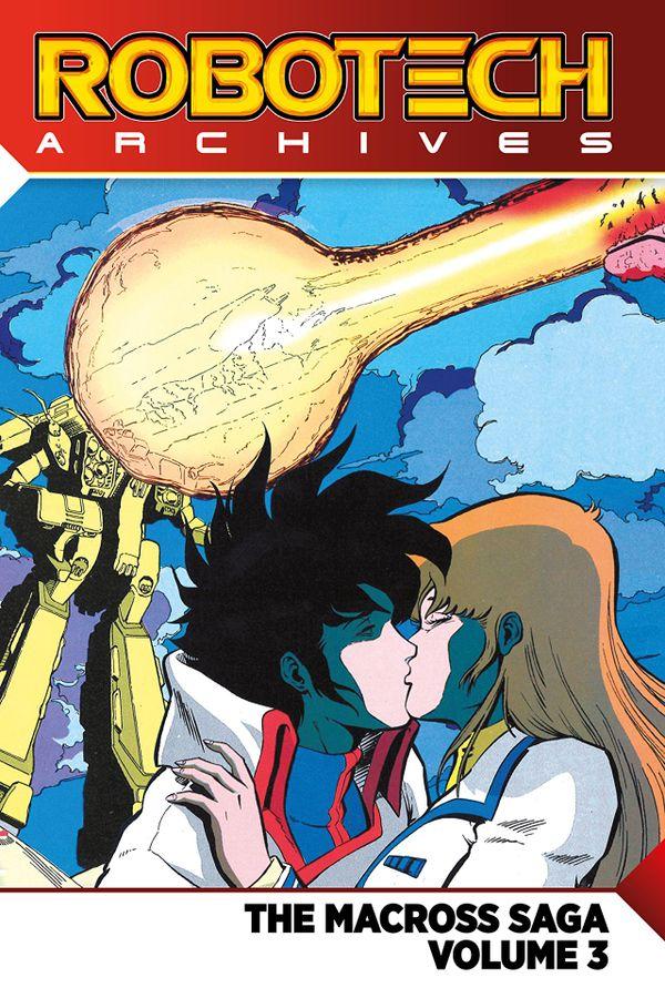 [Cover Art image for Robotech Archives: The Macross Saga]