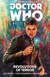 [The cover image for Doctor Who: The Tenth Doctor Vol. 1: Revolutions of Terror]