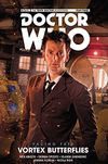 [The cover image for Doctor Who: The Tenth Doctor: Facing Fate - Volume 2: Vortex Butterflies]