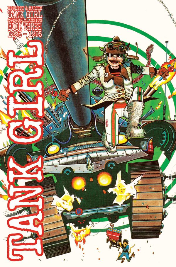 [Cover Art image for Tank Girl: Color Classics Book 3 1993-1995]