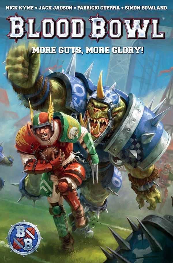 [Cover Art image for Warhammer: Blood Bowl]