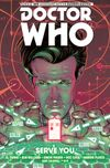 [The cover image for Doctor Who: The Eleventh Doctor Vol. 2: Serve You]