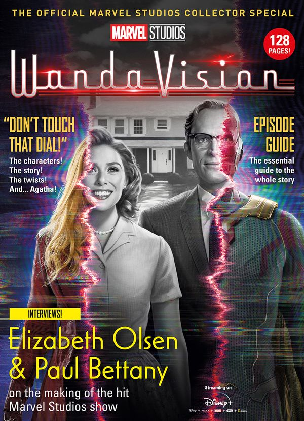 [Cover Art image for Marvel Studios' WandaVision: The Official Collector Edition]