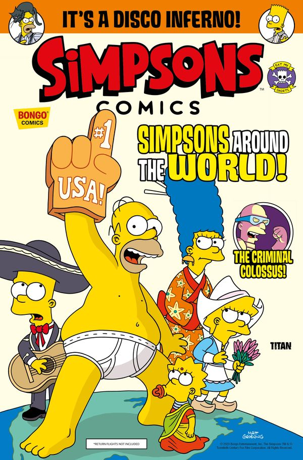 [Cover Art image for Simpsons Comics #33]