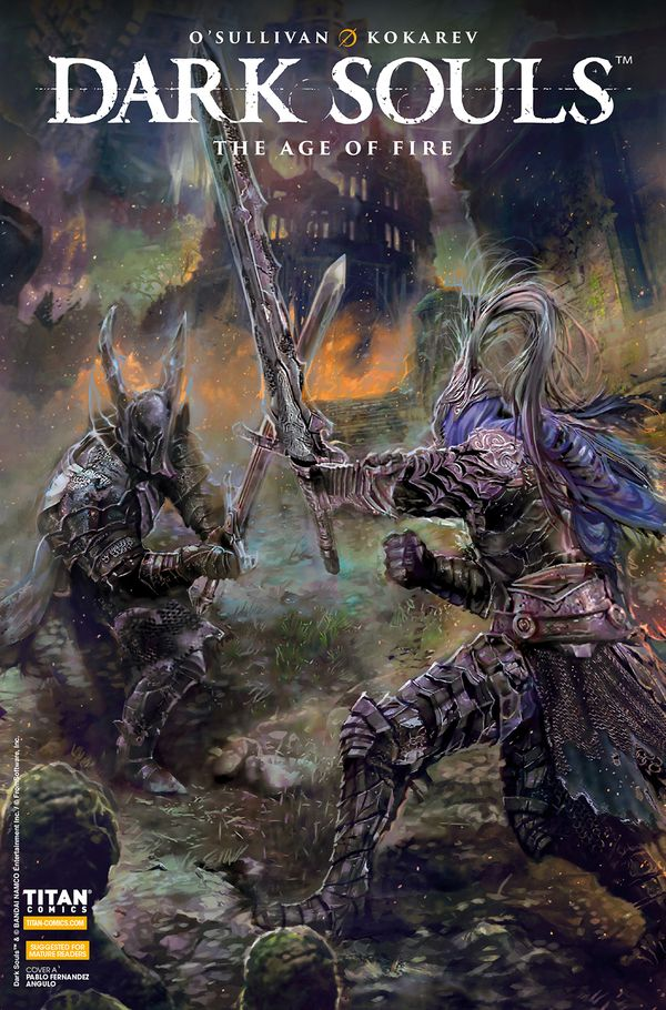 [Cover Art image for Dark Souls: The Age of Fire]
