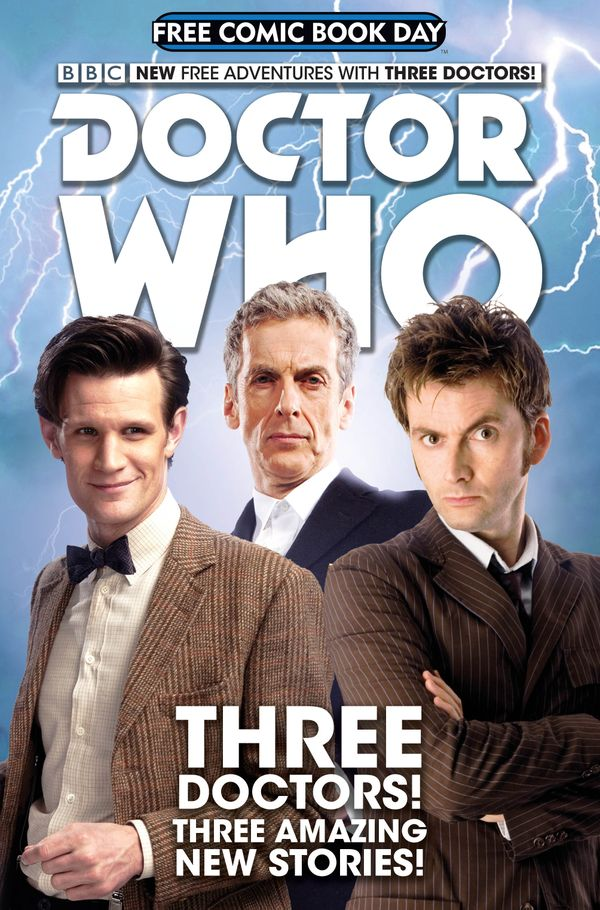 [Cover Art image for Doctor Who: Free Comic Book Day]