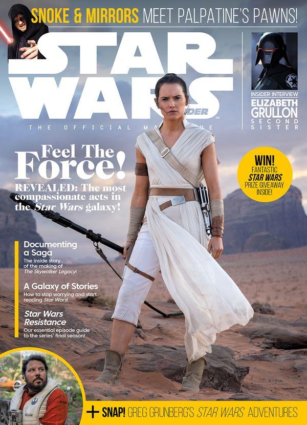 [Cover Art image for Star Wars Insider #198]