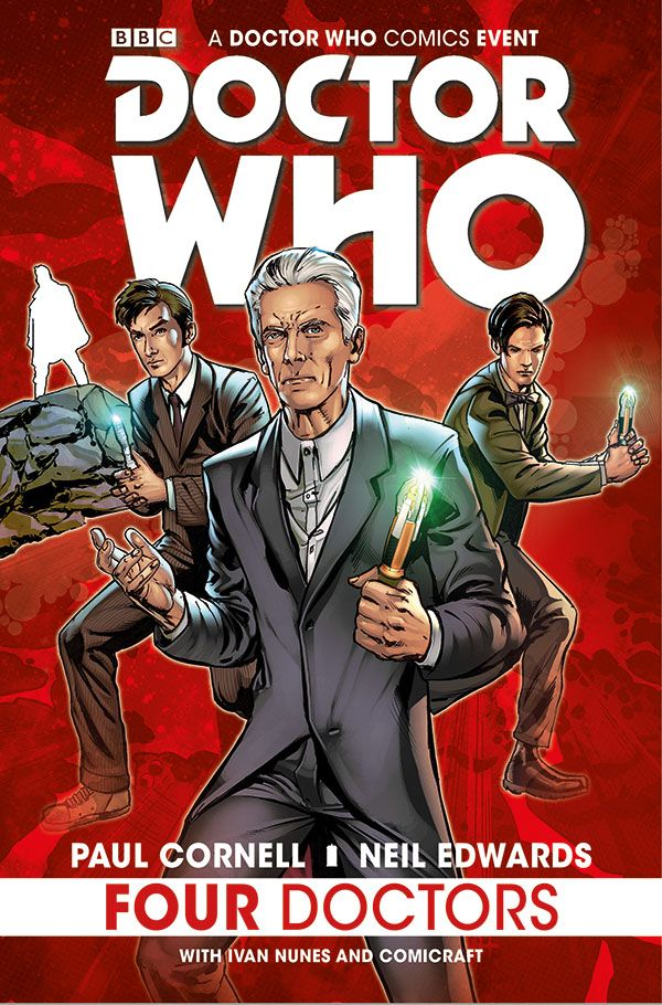 [Cover Art image for Doctor Who: Four Doctors]