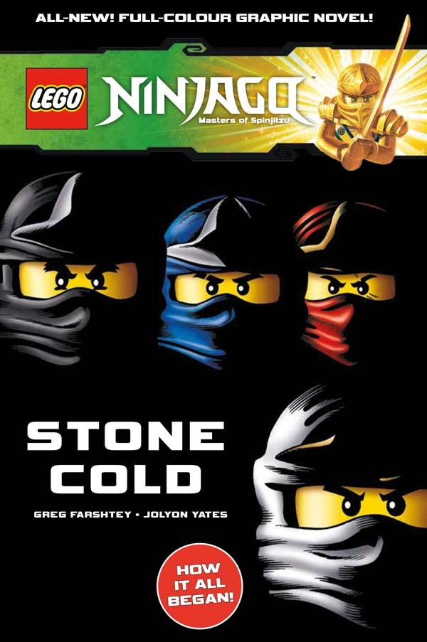 [Cover Art image for Lego Ninjago: Stone Cold]