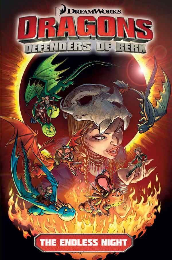 [Cover Art image for Dragons: Defenders of Berk: The Endless Night]