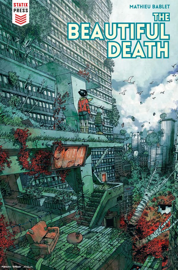 [Cover Art image for The Beautiful Death]
