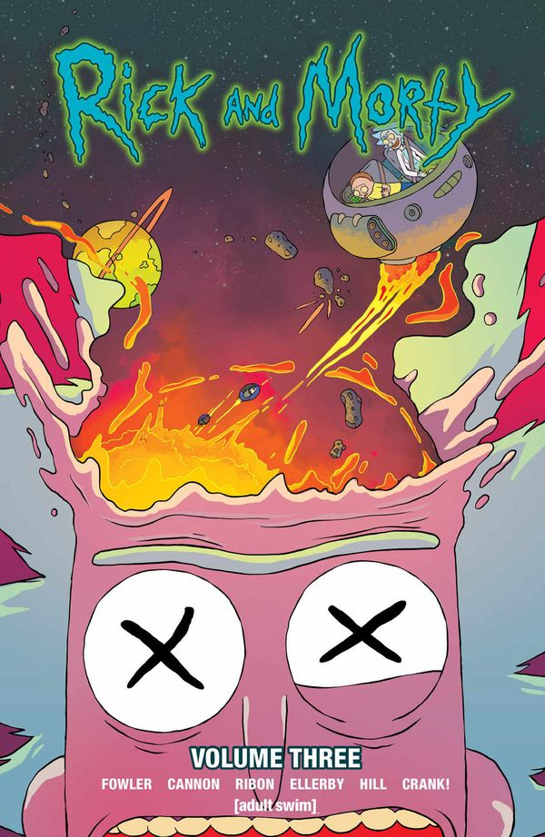 [Cover Art image for Rick and Morty: Headspace]