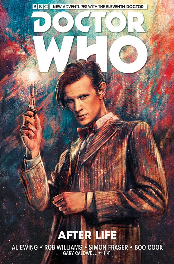 [Cover Art image for Doctor Who: The Eleventh Doctor Vol. 1: After Life]