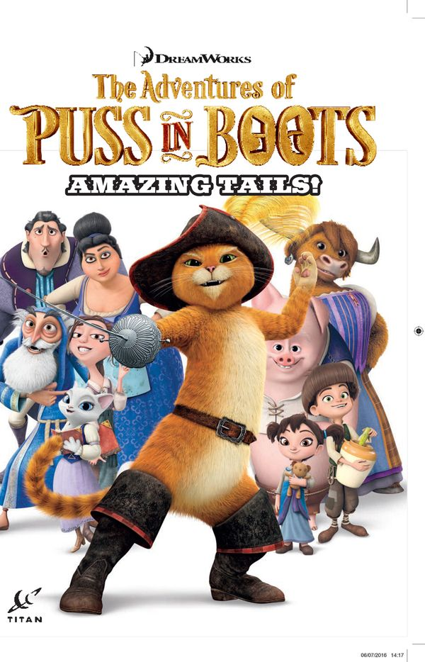 [Cover Art image for Puss in Boots: Amazing Tales]