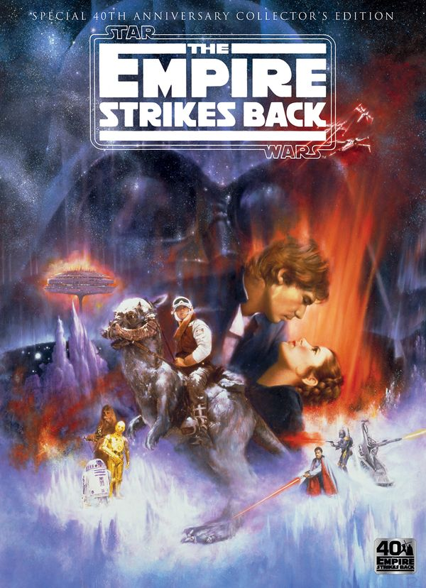 [Cover Art image for Star Wars: The Empire Strikes Back: 40th Anniversary Collector's Edition]