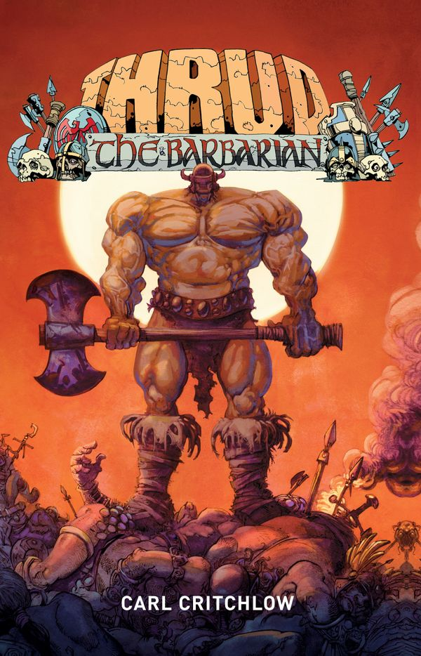 [Cover Art image for Thrud The Barbarian]