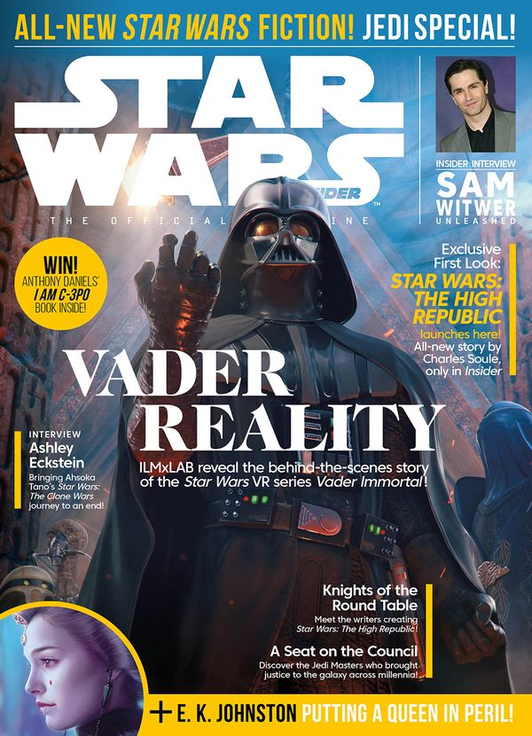 [Cover Art image for Star Wars Insider #199]