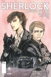 [The cover image for Sherlock: A Study in Pink]