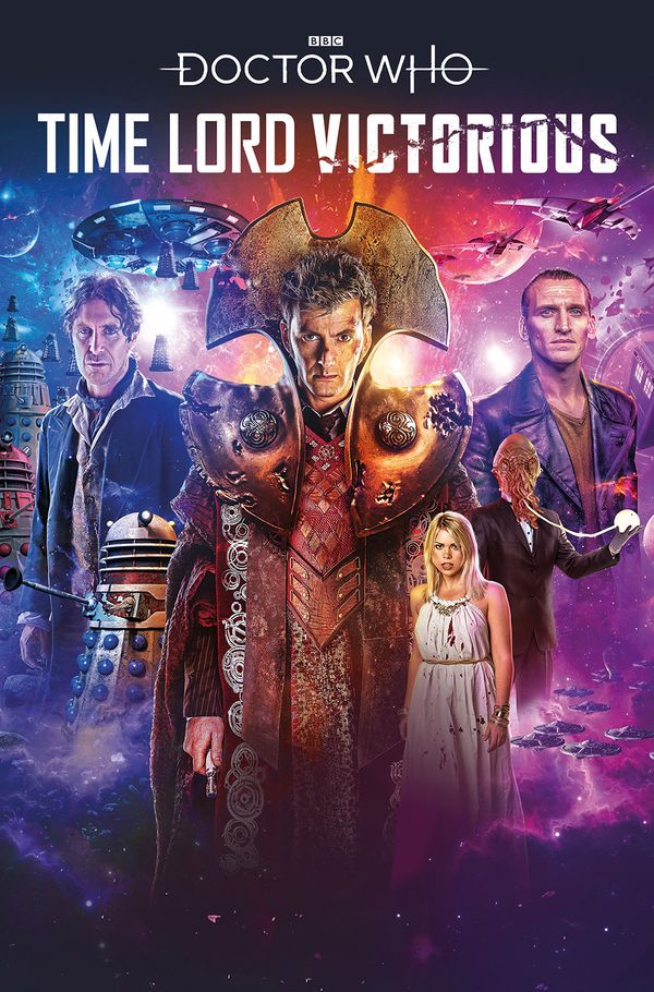 [Cover Art image for Doctor Who: Time Lord Victorious]