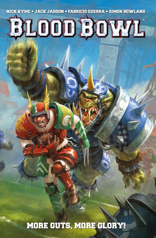 [Cover Art image for Warhammer Blood Bowl: More Guts, More Glory!]