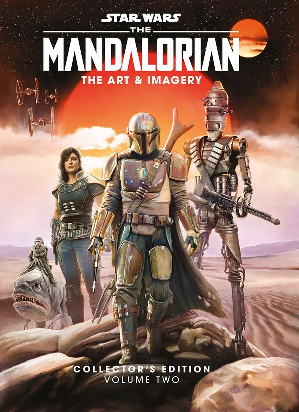 [Cover Art image for Star Wars: The Mandalorian: The Art & Imagery Collector's Edition Vol. 2]