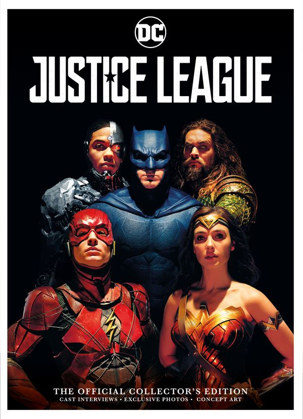 [Cover Art image for Justice League: Official Collector's Edition Book]