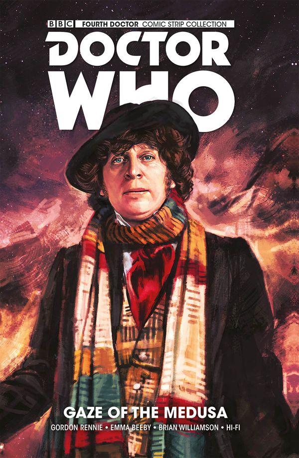[Cover Art image for Doctor Who: The Fourth Doctor: Gaze of the Medusa]