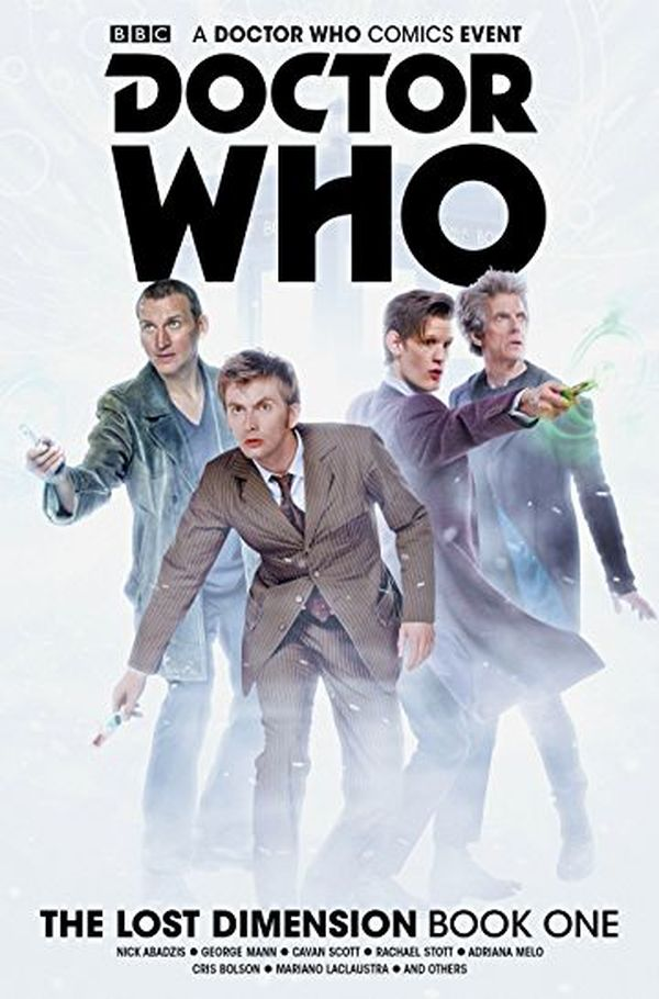 [Cover Art image for Doctor Who: The Lost Dimension Book 1]