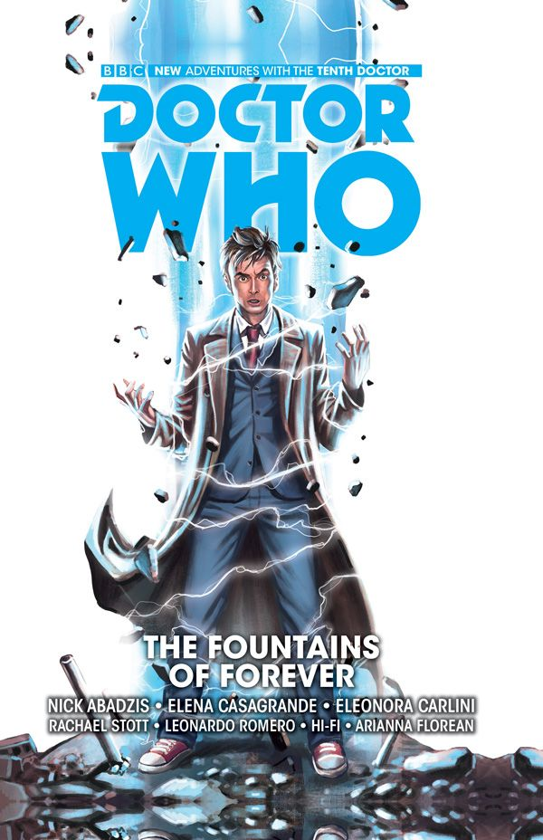 [Cover Art image for Doctor Who: The Tenth Doctor Vol. 3: The Fountains of Forever]