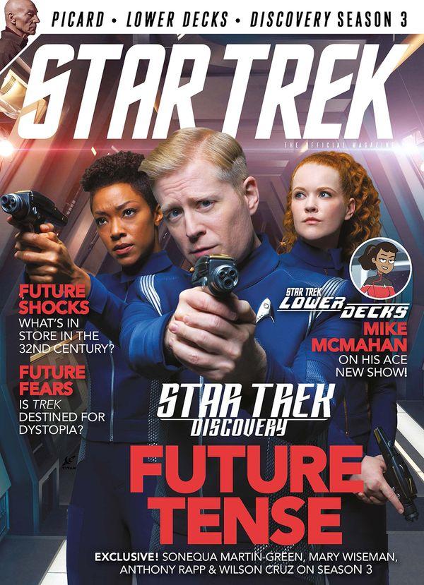 [Cover Art image for Star Trek Magazine #76]