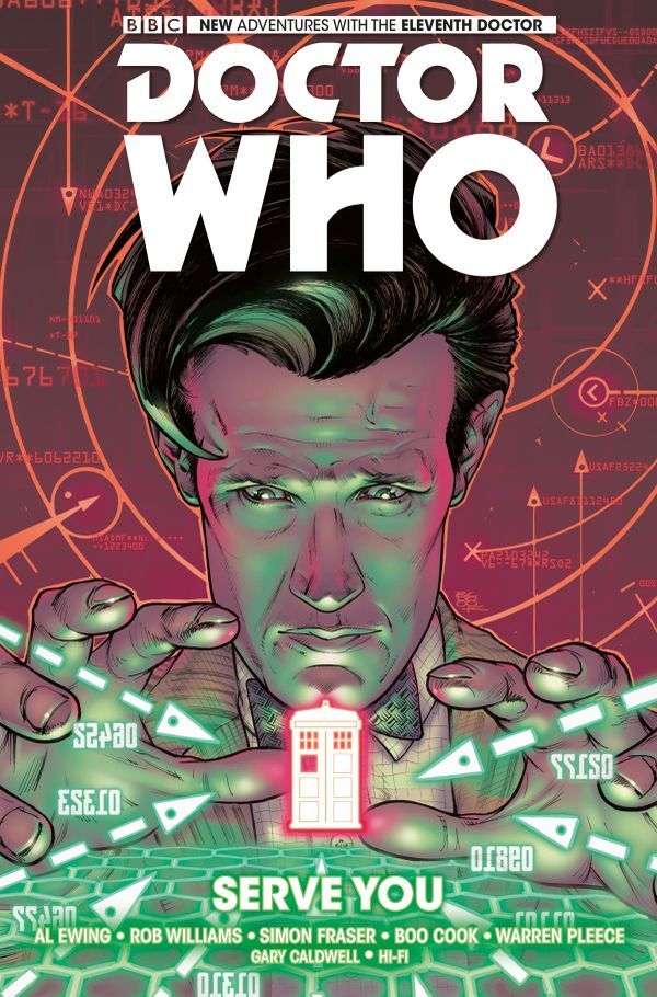 [Cover Art image for Doctor Who: The Eleventh Doctor Vol. 2: Serve You]