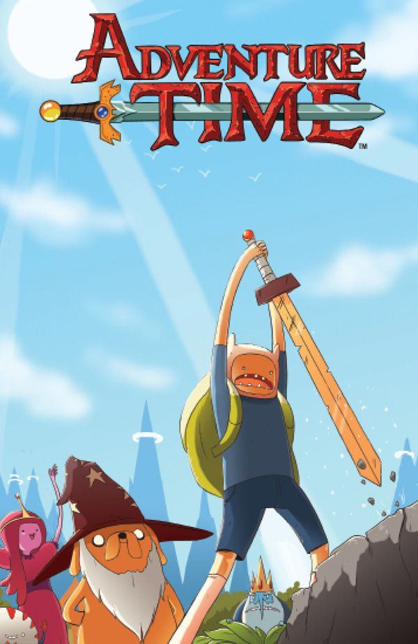 [Cover Art image for Adventure Time Vol. 5]