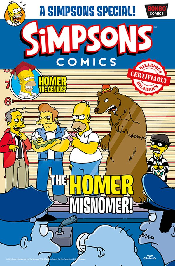 [Cover Art image for Simpsons Comic #26]