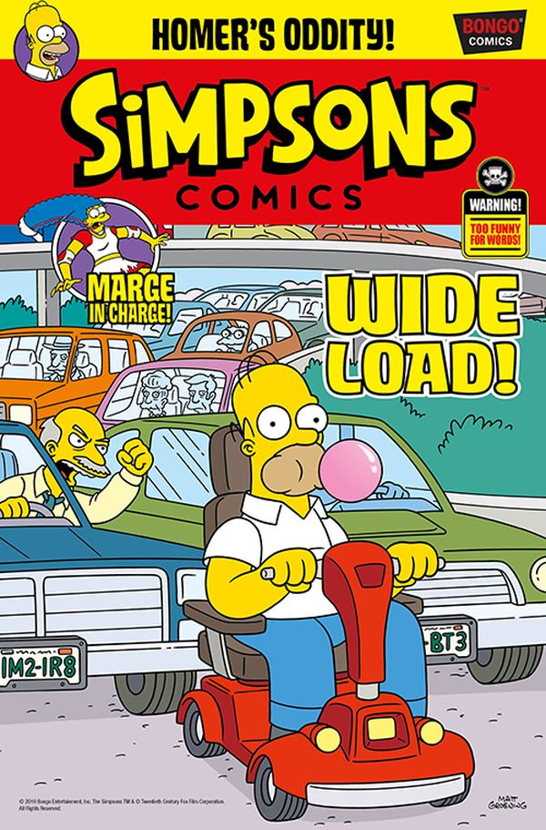 [Cover Art image for Simpsons Comic #27]