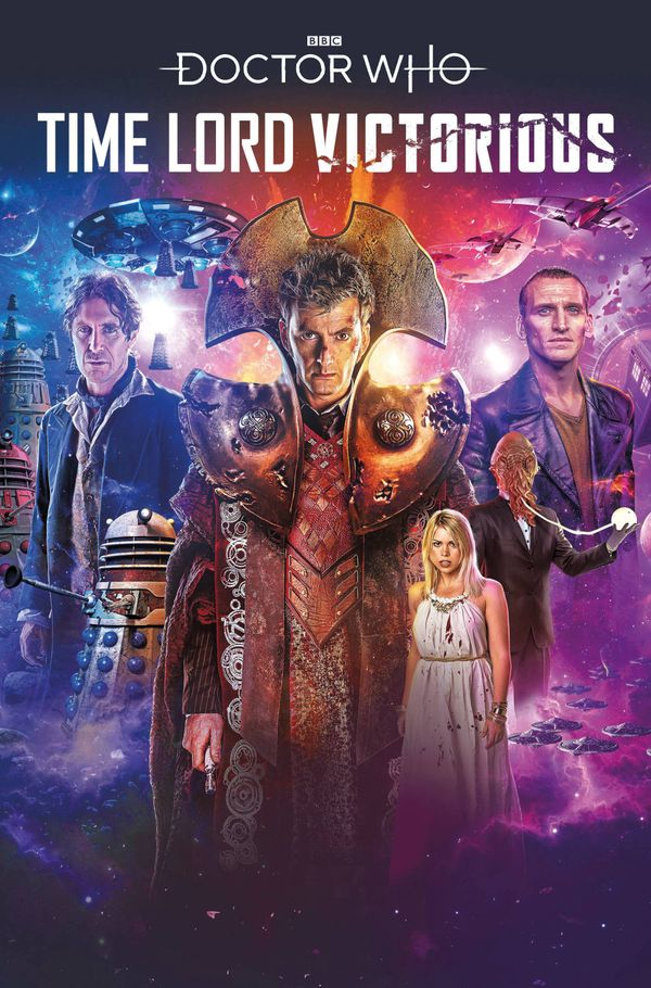 [Cover Art image for Doctor Who: Time Lord Victorious: Defender of the Daleks]