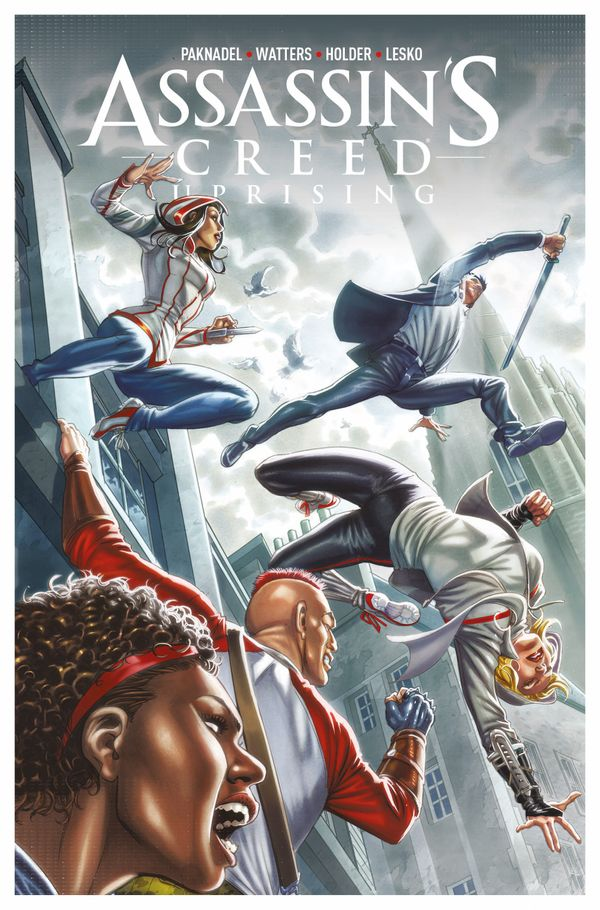 [Cover Art image for Assassin's Creed: Uprising Vol. 2: Inflection Point]