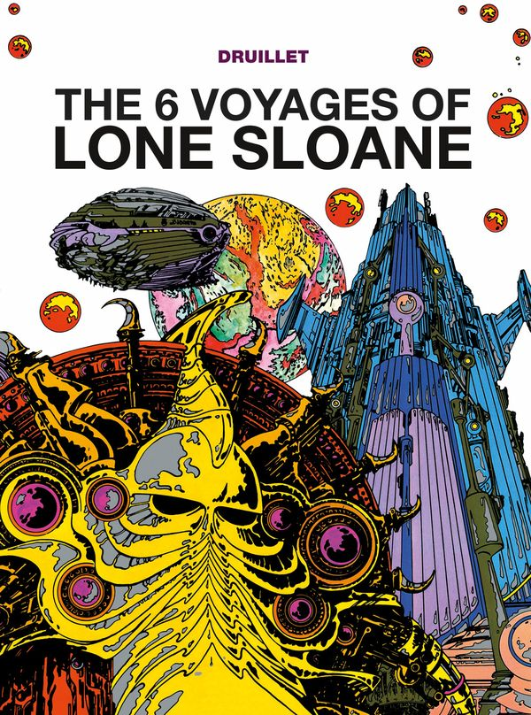 [Cover Art image for Lone Sloane: The 6 Voyages of Lone Sloane]