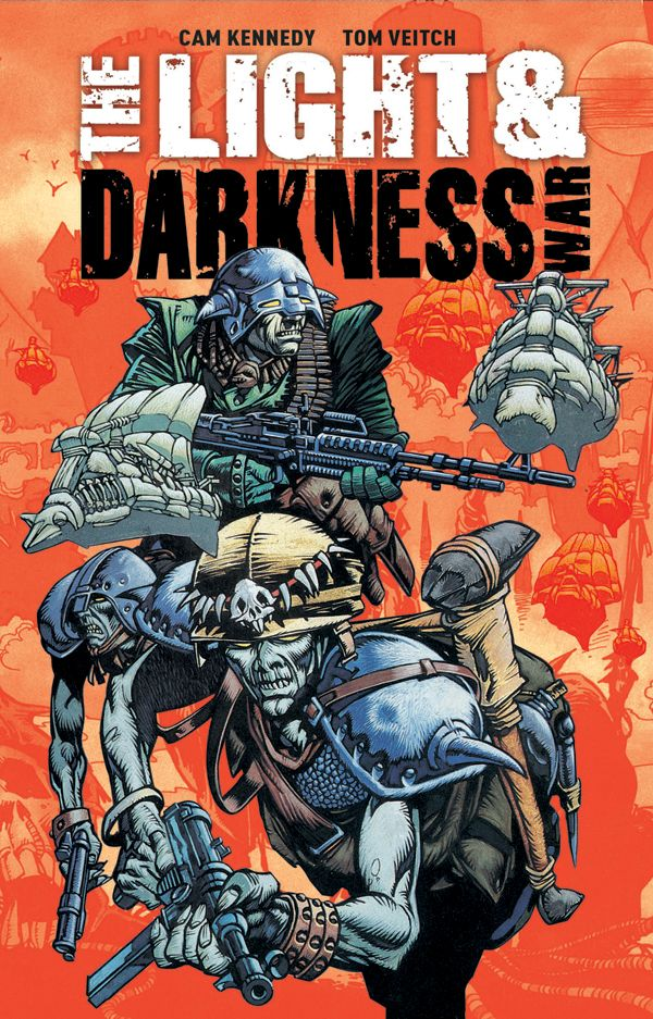 [Cover Art image for The Light & Darkness War]