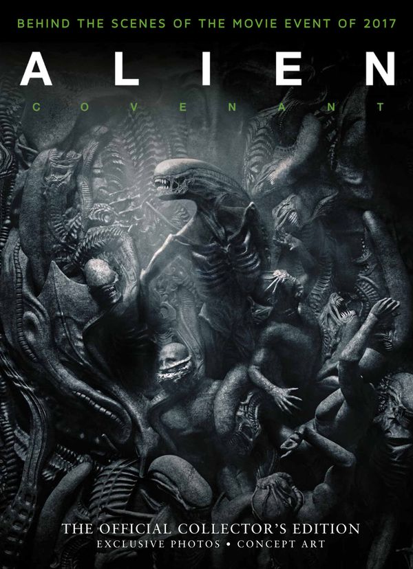 [Cover Art image for Alien Covenant: Official Collector's Edition]
