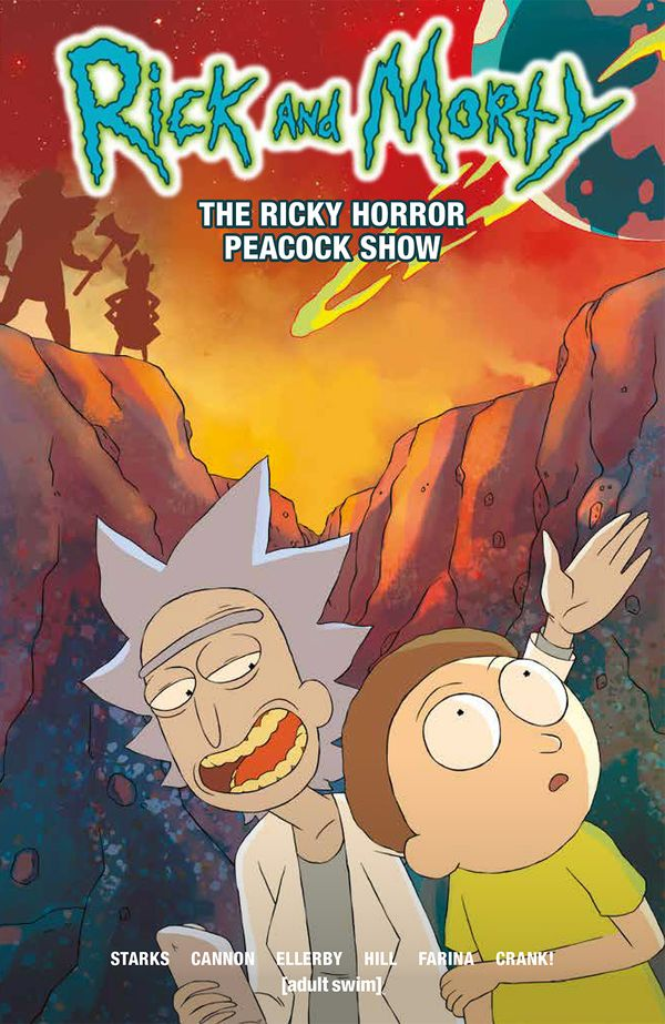 [Cover Art image for Rick and Morty: The Ricky Horror Peacock Show]