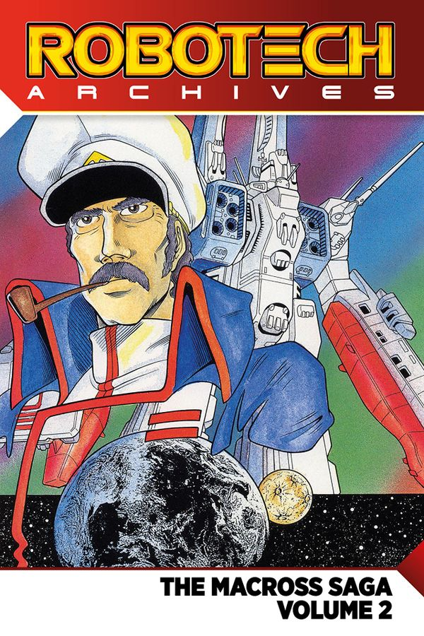 [Cover Art image for Robotech Archives: The Macross Saga Vol. 2]