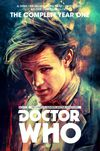 [The cover image for Doctor Who: The Eleventh Doctor Complete Year One]