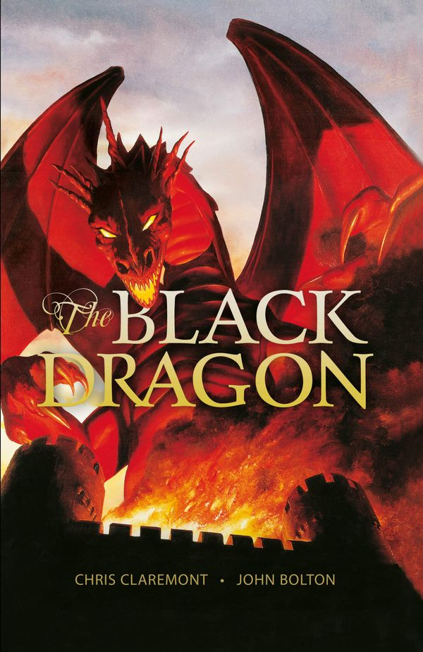 [Cover Art image for Black Dragon]