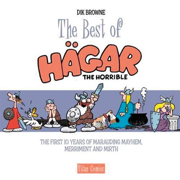 [Cover Art image for The Best of Hagar The Horrible]