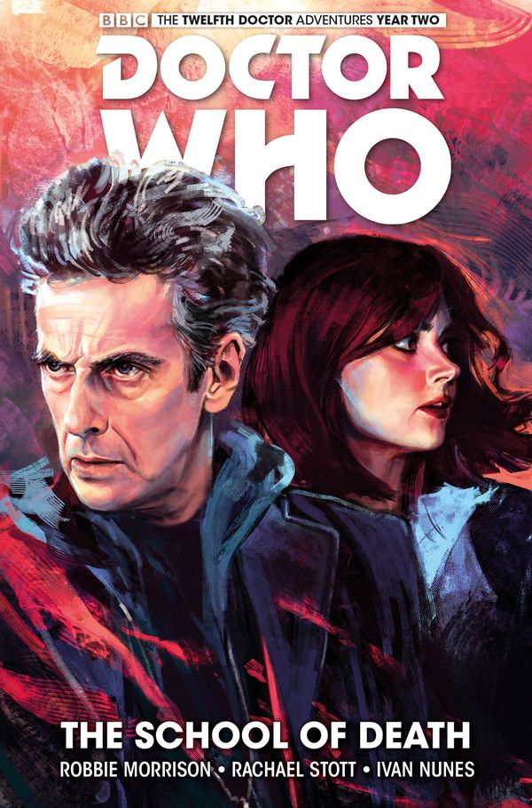 [Cover Art image for Doctor Who: The Twelfth Doctor Vol. 4: The School of Death]