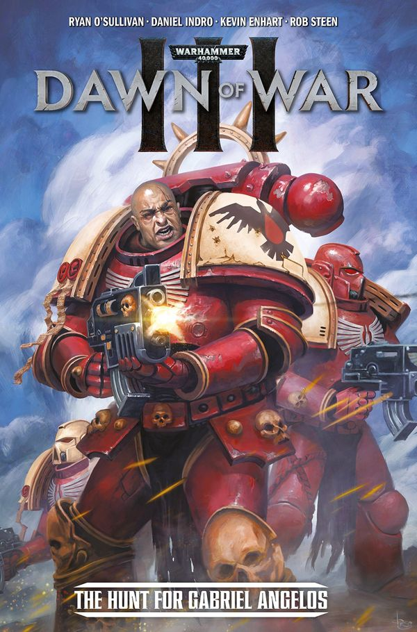 [Cover Art image for Warhammer 40,000: Dawn Of War III: The Hunt For Gabriel Angelos]